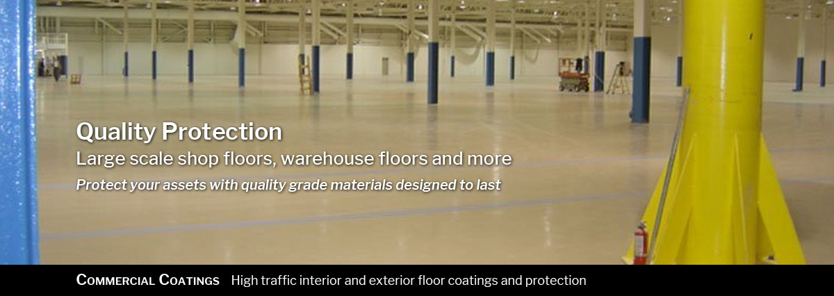 Commercial Coatings High Traffic Interior And Exterior Floor Protection